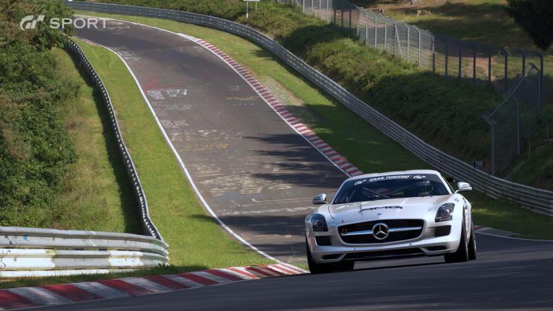 Gran Turismo Sport - Mercedes AMG (Foto: Sony PlayStation)