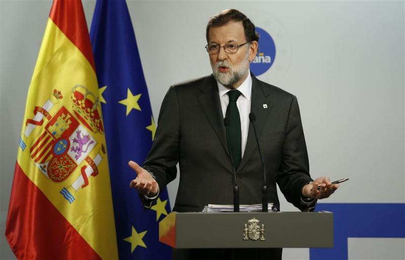 Spaanse regering bijeen om Catalaanse crisis