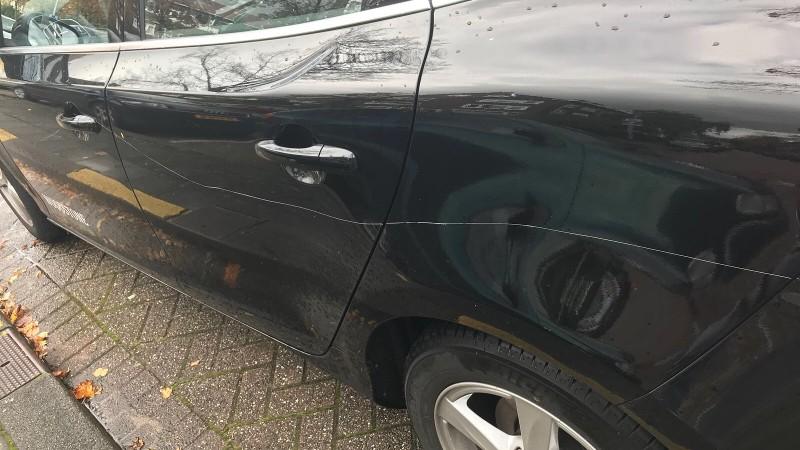 50 auto's bekrast in Schiedam (Foto: Politie.nl)