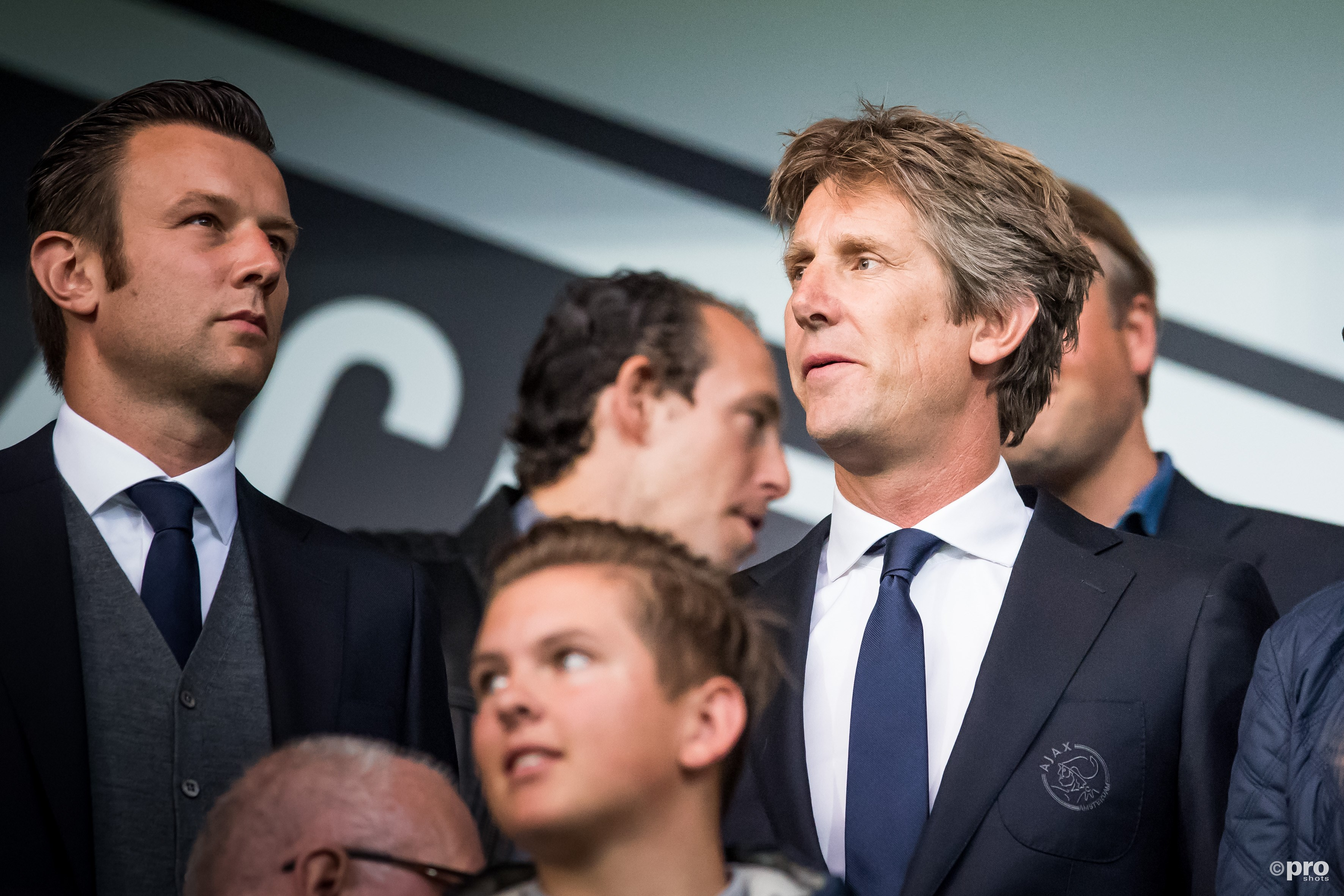 Edwin van de Sar. (PRO SHOTS/Lars Smook)