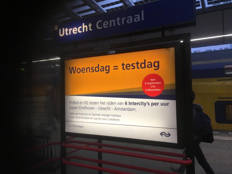 NS geeft les aan buitenlandse collega's  (Foto: Nederlandse Spoorwegen)