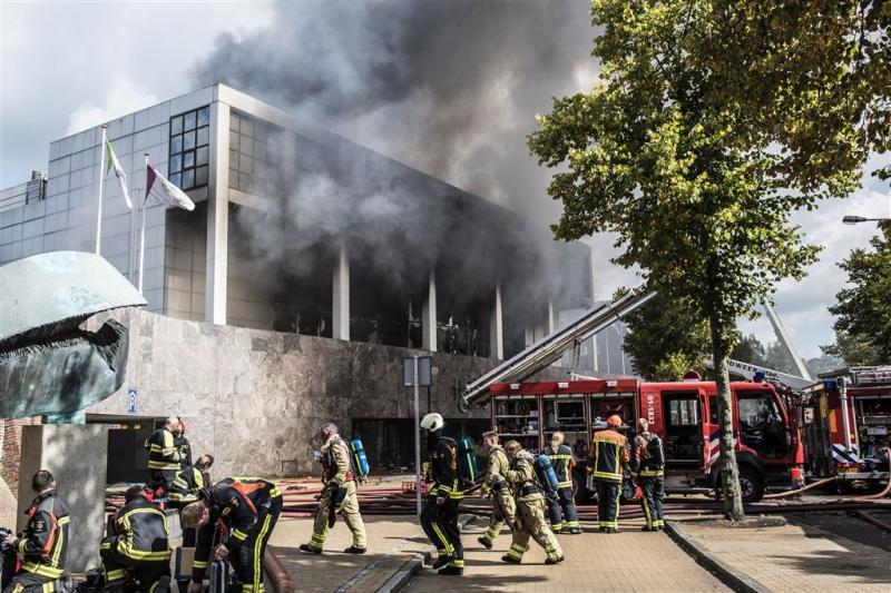 Geld teruggevonden in afgebrand casino