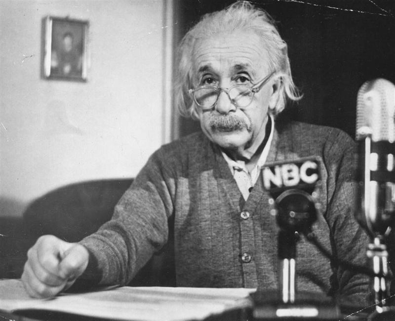Briefje van Einstein brengt 1,1 miljoen op