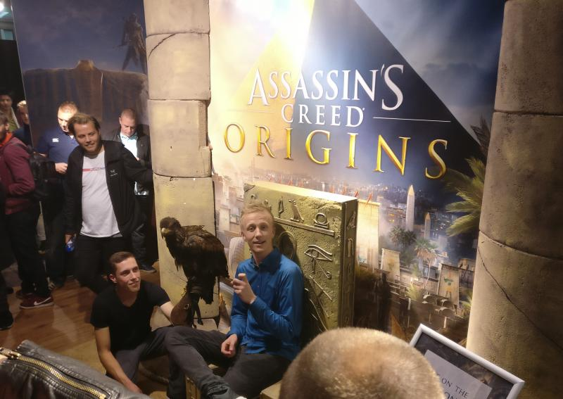 Assassin's Creed Origins Expo - Troon