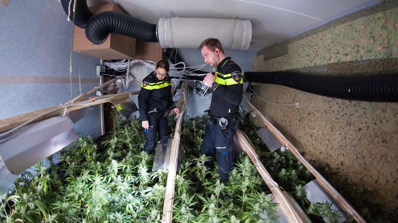 Arrestaties na explosie hennepkwekerij (Foto: stockfoto politie.nl)