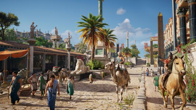 Assassin's Creed Origins - Alexandria (Foto: Ubisoft)
