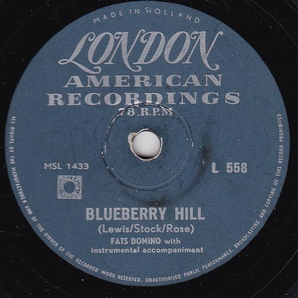Blueberry Hill (78 Toerenplaat)