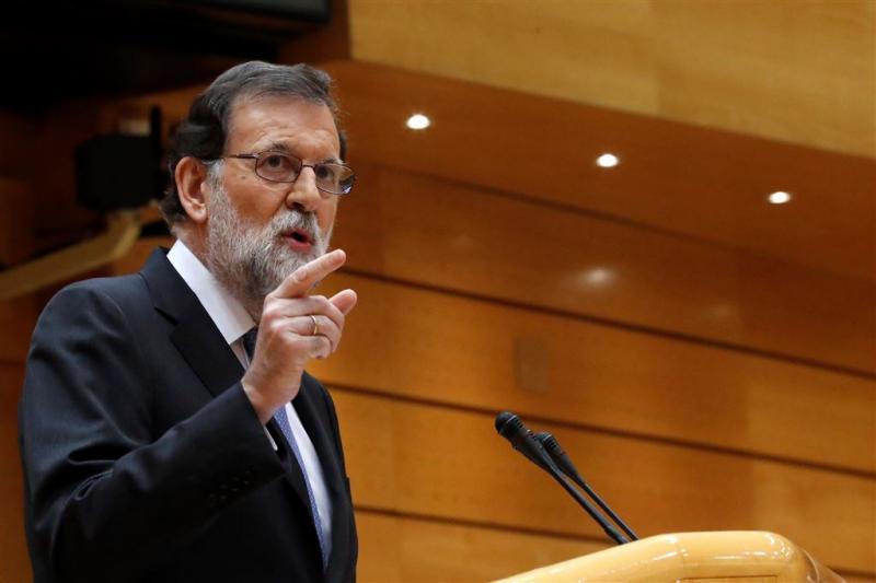 Rajoy stuurt Catalaanse regering naar huis