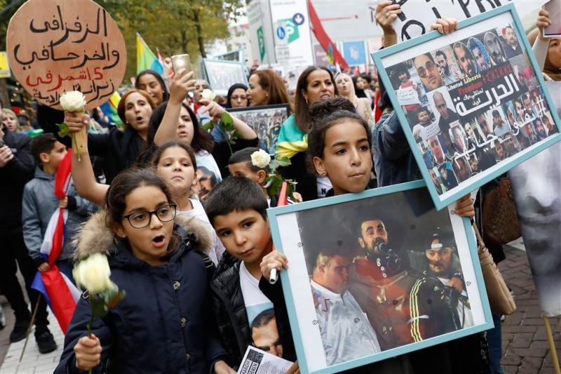 Honderden demonstranten tegen toestanden Rif