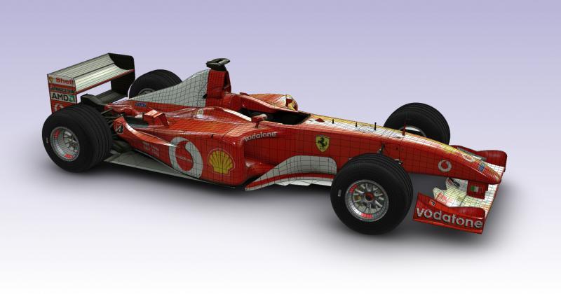 De Ferrari F2002 in F1 2017