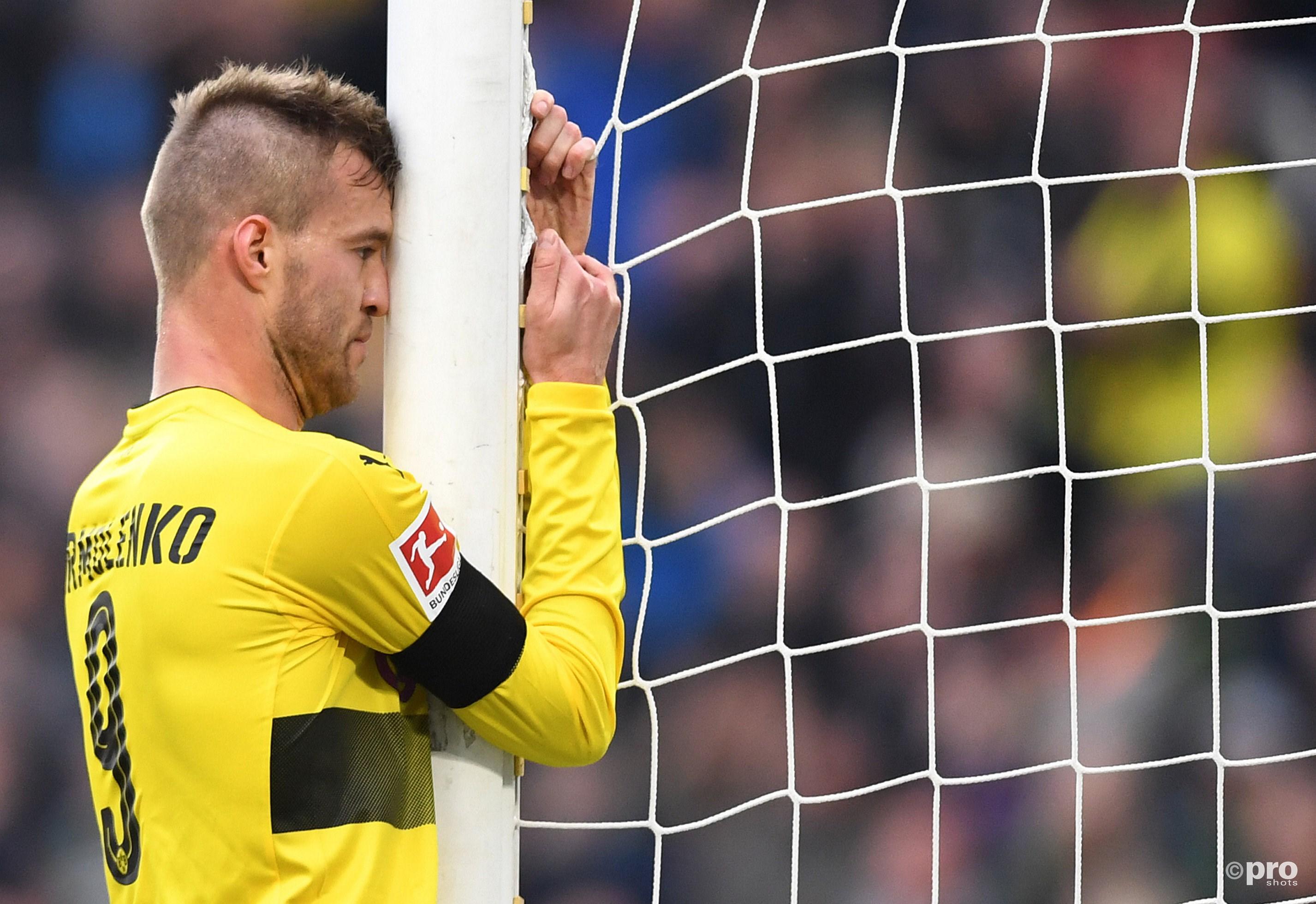 Borussia Dortmund levert koppositie in. (PRO SHOTS/Witters)