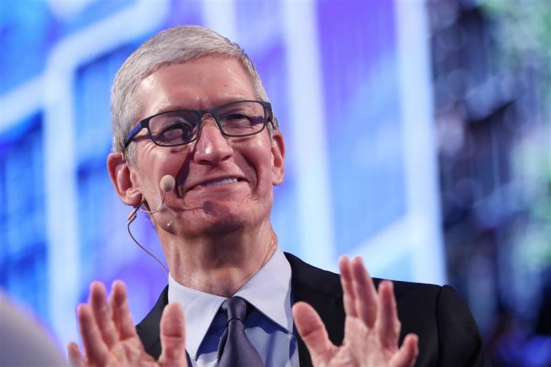 Apple op weg naar mythische grens