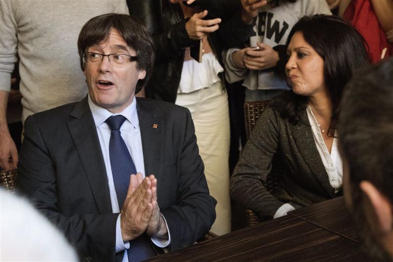 Spaans OM wil Puigdemont vervolgen