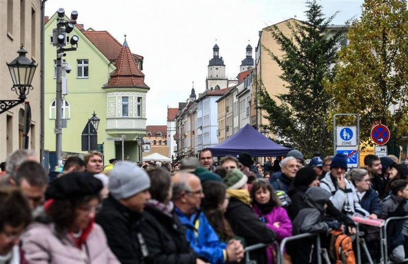 Herdenking 500 jaar reformatie in Wittenberg