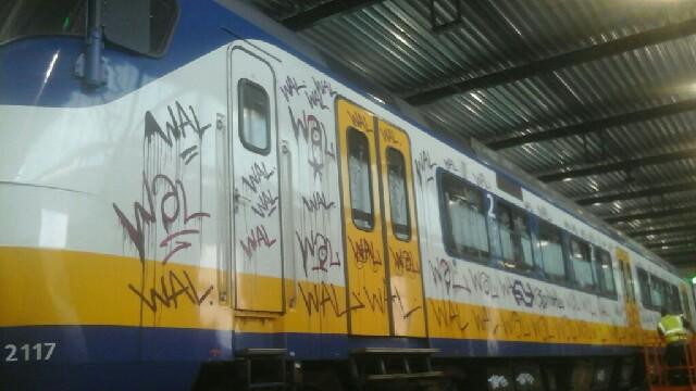 Politie publiceert foto treinbekladderaar (Foto: Politie.nl)