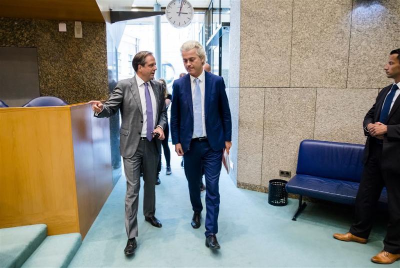 Twist Wilders en Pechtold over ideaal verleden
