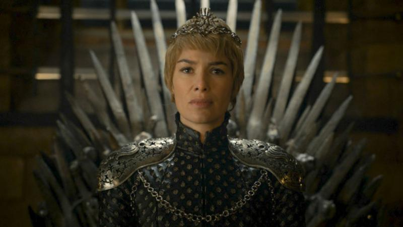 Lena Headey in haar rol als de beruchte Cersei Lannister