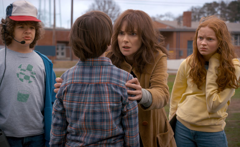 Stranger Things 2 Dustin Will Joyce Max