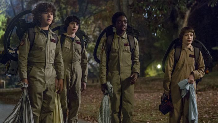 Stranger Things 2 vier jongens Ghostbusters