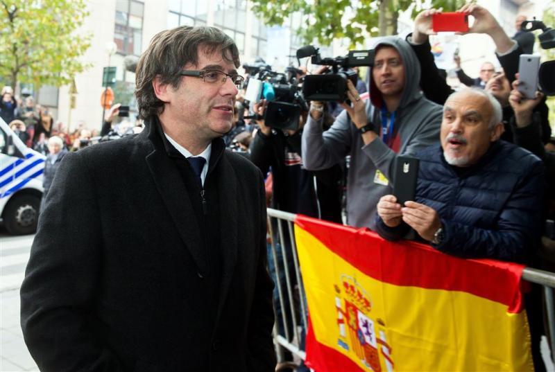 Europees arrestatiebevel tegen Puigdemont