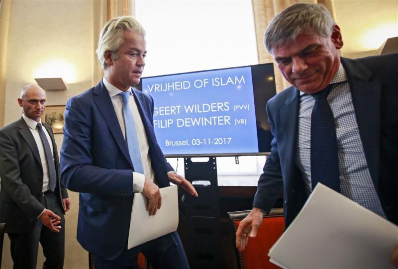 Politie stuurt Filip Dewinter bij Molenbeek weg