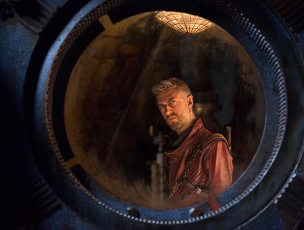 Sean Gunn als Kraglin in Guardians of the Galaxy