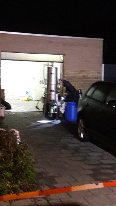 Twee doden bij drugslab Kaatsheuvel (Foto: Politie.nl)