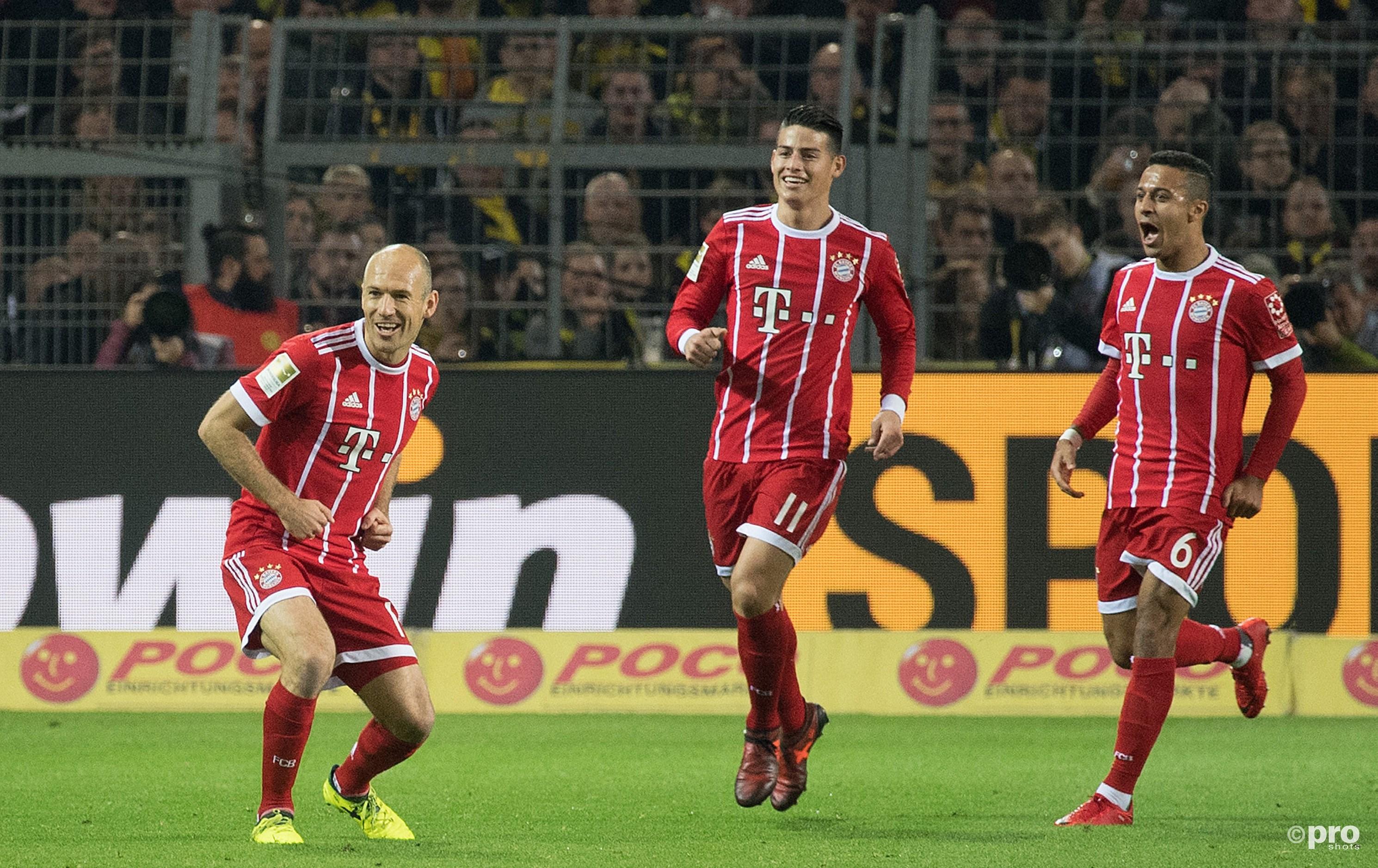 Bayern stelt orde op zaken. (PRO SHOTS/Witters)