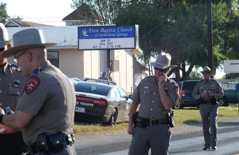 Schutter in kerk Texas pleegde zelfmoord