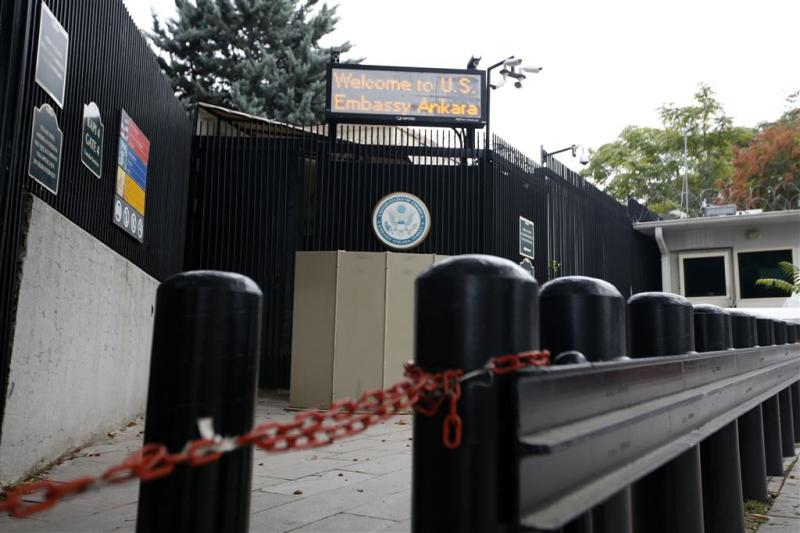 Diplomatie VS in Turkije verleent weer visa