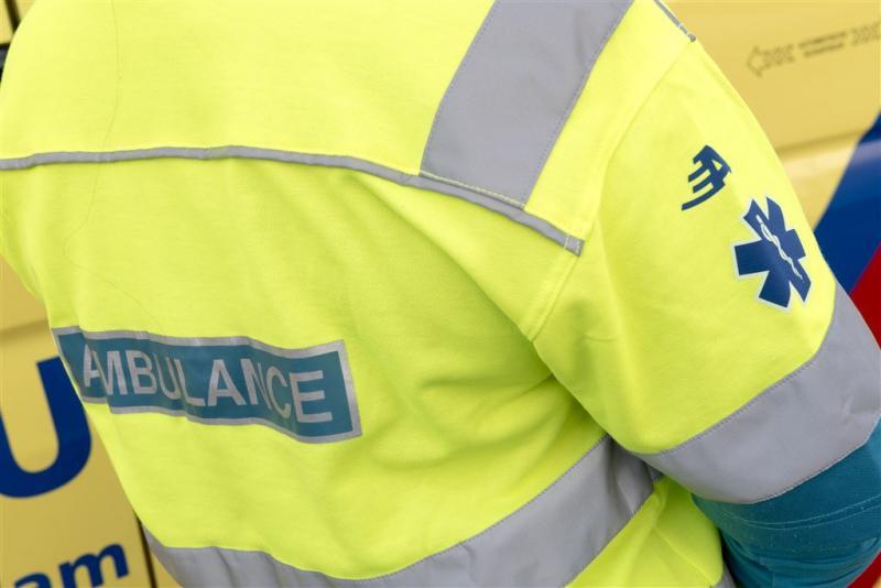 Ambulancemedewerkers leggen het werk neer