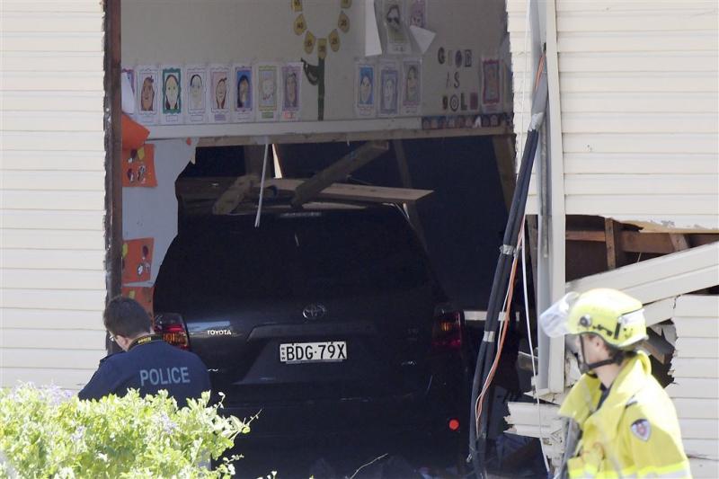 Kinderen doodgereden in klaslokaal Sydney