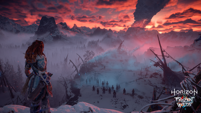 HZD-The Frozen Wilds - Vurige berg