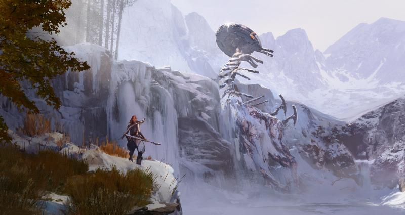 HZD-The Frozen Wilds - Tallneck