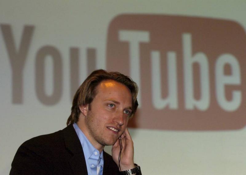 YouTube-oprichter vervangt Spacey