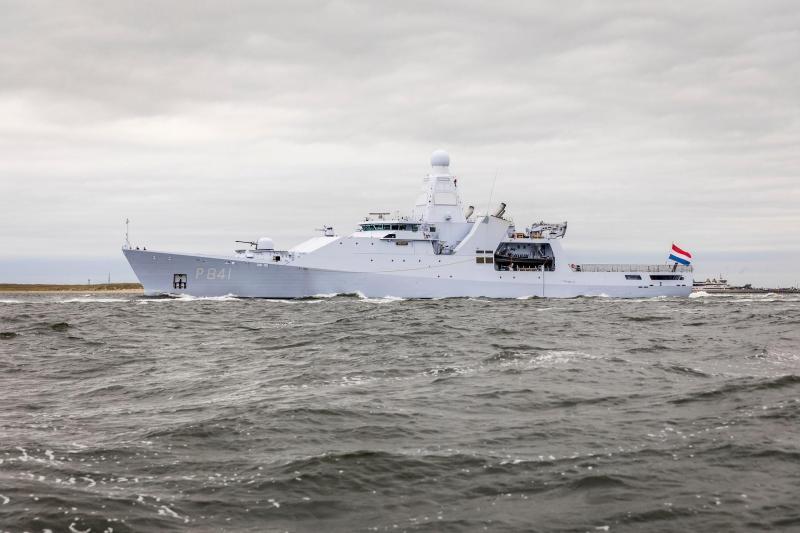 Zr. Ms. Zeeland terug in Den Helder (Foto: Ministerie van Defensie)