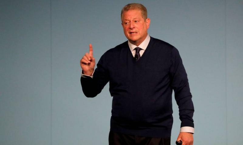 Al Gore optimistisch op klimaattop