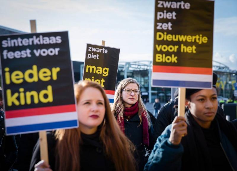 Protest gepland bij intocht Zwarte Piet