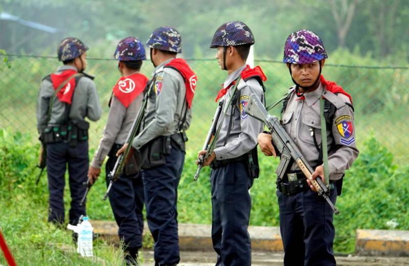 Leger Myanmar ontkent mensenrechtenschending