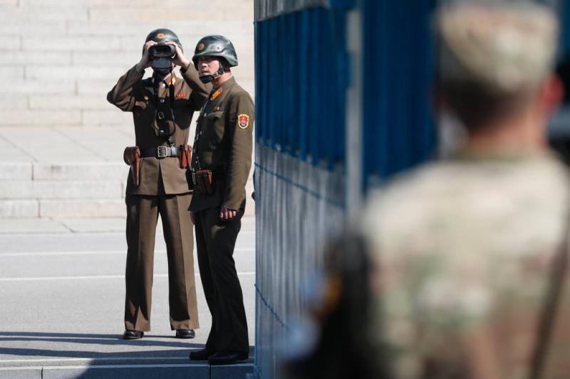 Vluchtende militair Noord-Korea neergeschoten
