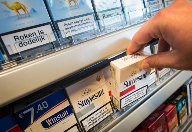 Pakje sigaretten 49 cent duurder in 2021