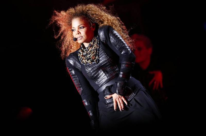 'Neus Janet Jackson op instorten'