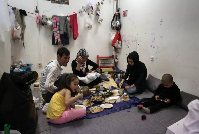 EU wil migranten helpen in Griekse winter