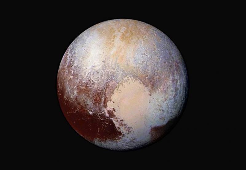 Pluto kouder dan verwacht