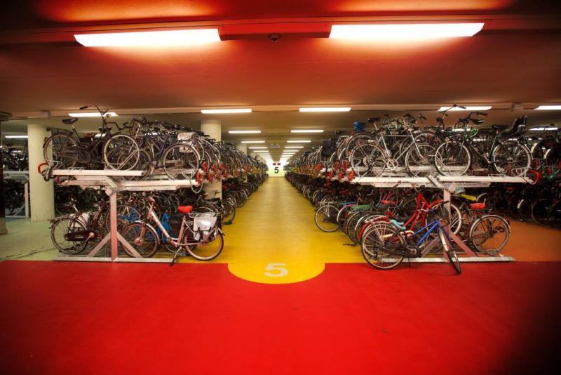 Fietsenstalling in parkeergarages Rotterdam