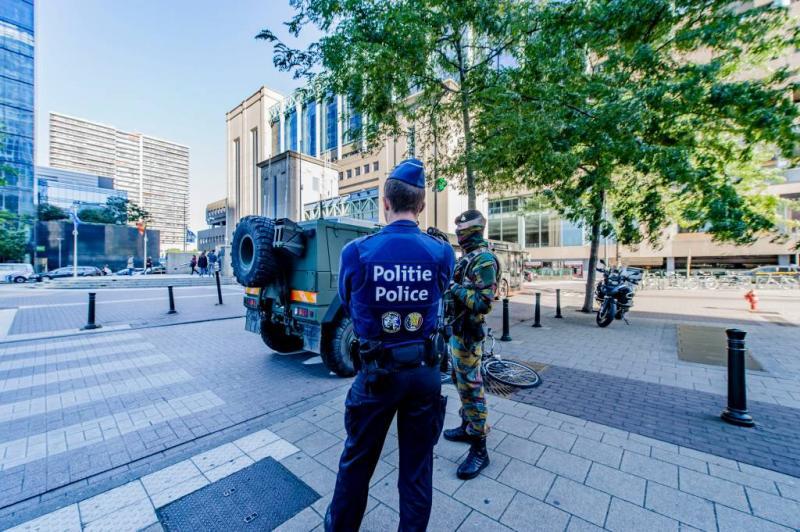 Weer relletjes in Brussel