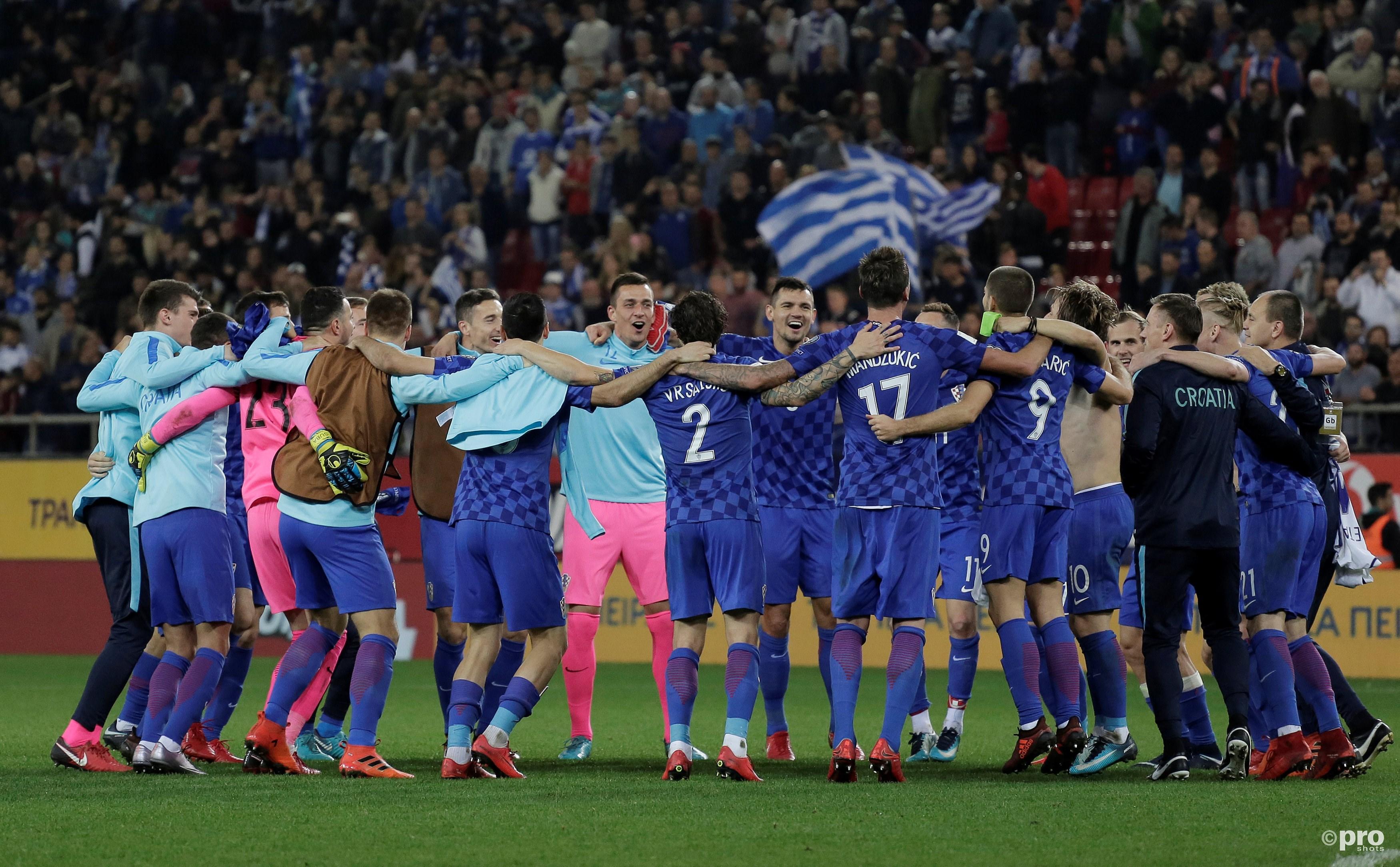 Kroatië via de herkansing alsnog naar het WK. (PRO SHOTS/Action Images)