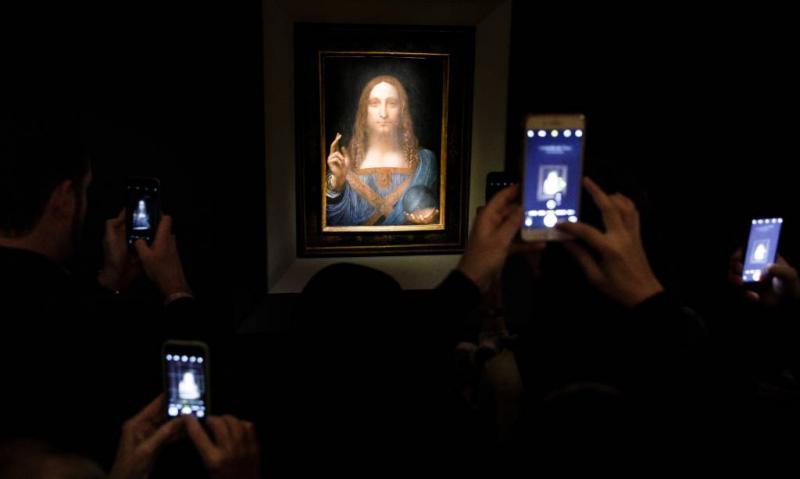 Schilderij Da Vinci zet nieuw verkooprecord