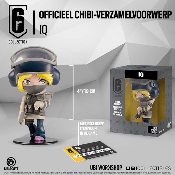 Chibi Iq Figurine uit Rainbow Six Siege (Foto: Ubisoft)
