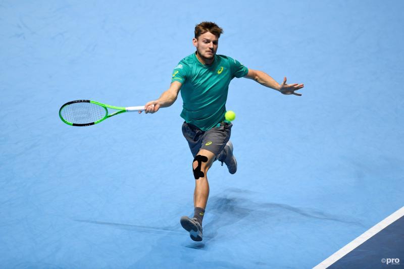 Goffin klopt Thiem en staat in halve finales ATP Finals (Pro Shots / Action Images)
